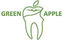 GREEN APPLE  DENTAL CLINIC & LAB Logo